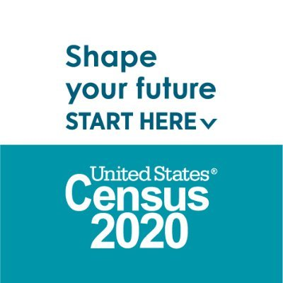 Logo for Census 2020