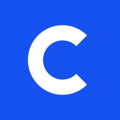 Logo for Coinbase